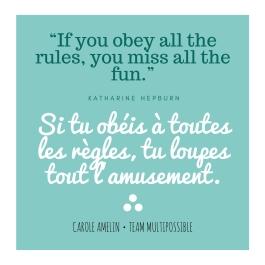 Quote Katarine hepburn